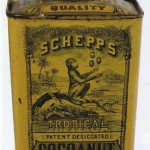 Schepp's Tropical Cocoanut Tin