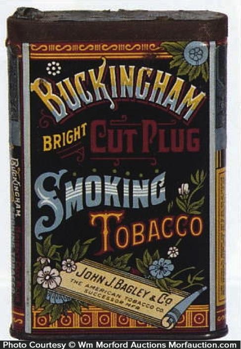 Buckingham Smoking Tobacco Tin