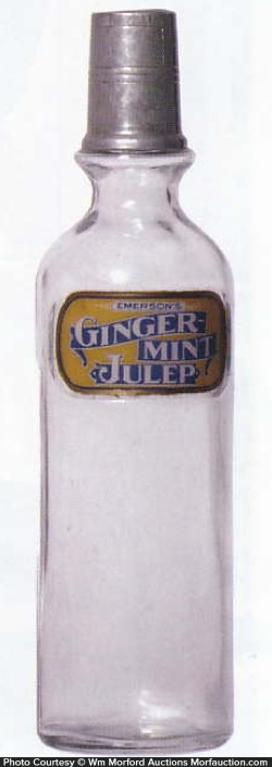 Emerson's Ginger-Mint Julep Syrup Bottle