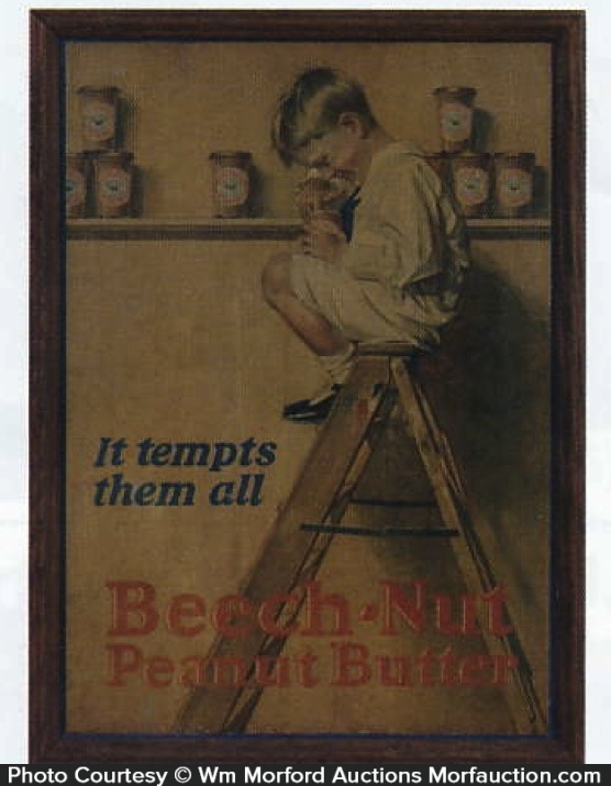 Beech-Nut Peanut Butter Sign