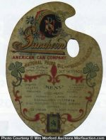 American Can Company Souvenir Menu