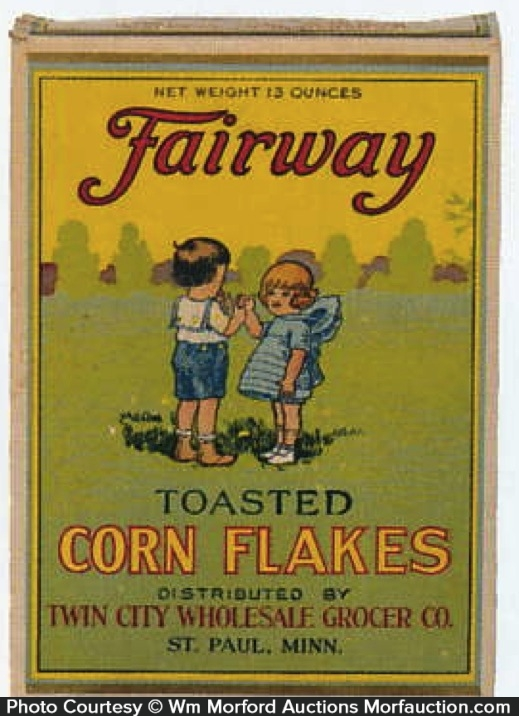 Fairway Corn Flakes Box