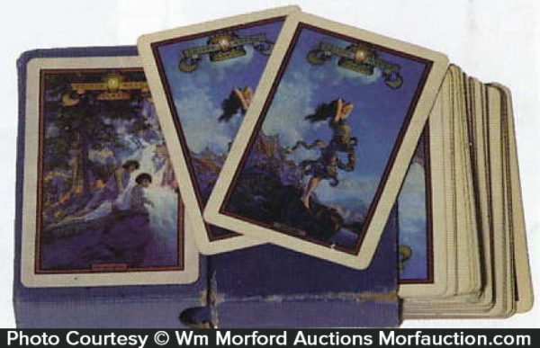 Edison Mazda Lamps Playing Cards