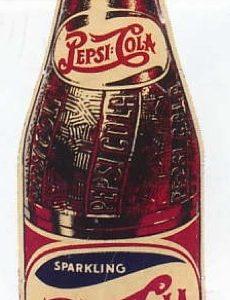 Pepsi-Cola Bottle Sign