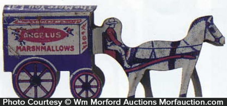 Angelus Marshmallows Wagon Toy