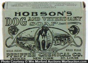 Hobson's Dog Soap Box