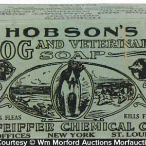 Hobson's Dog Soap Box