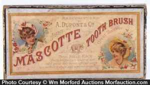 Mascotte Tooth Brush Box