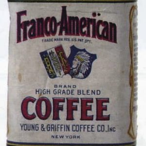 Franco-American Coffee Tin Sample