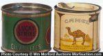 Vintage Round Cigarette Tins