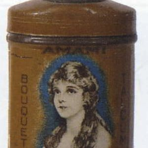 Amami Bouquet Talcum Tin Sample
