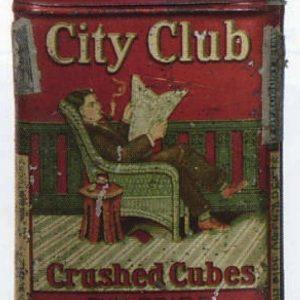 City Club Tobacco Short Tin