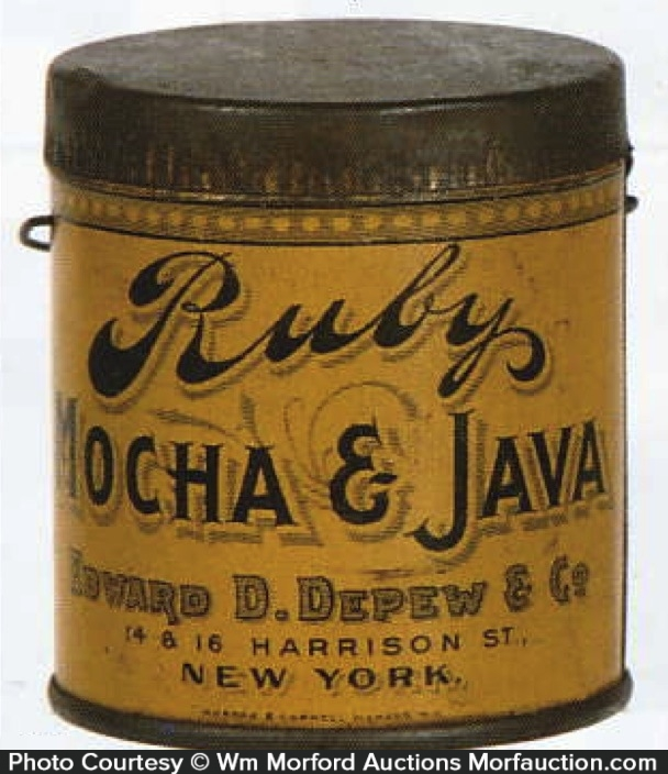 Ruby Coffee Pail Sample