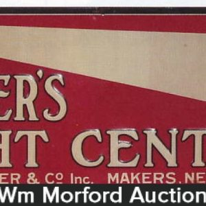Poppers Eight Center Cigar Sign