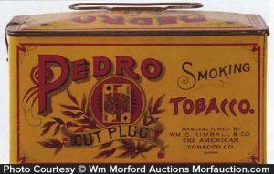 Pedro Smoking Tobacco Tin