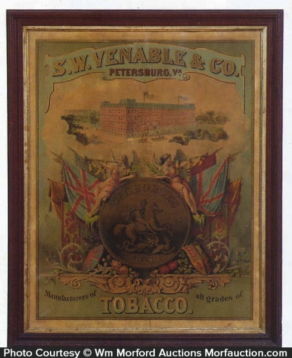Venable Tobacco Sign