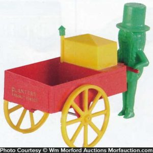Planters Peanut Vendor Toy