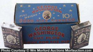 George Washington Tobacco Display
