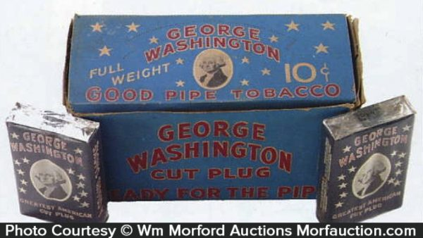 George Washington Tobacco Display