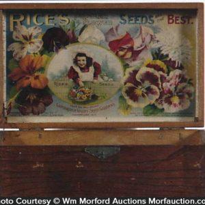 Rice's Popular Flower Seed Box