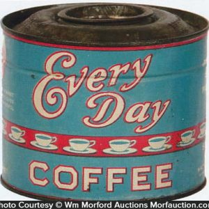 Every Day Coffee Can