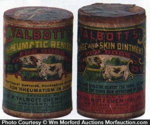 Talbott's Dog Remedy Boxes