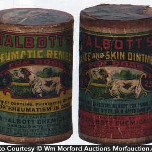 Talbott's Dog Remedy Boxes
