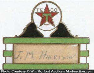 Texaco Badge