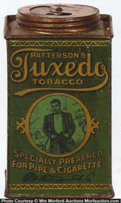 Tuxedo Tobacco Tin Can