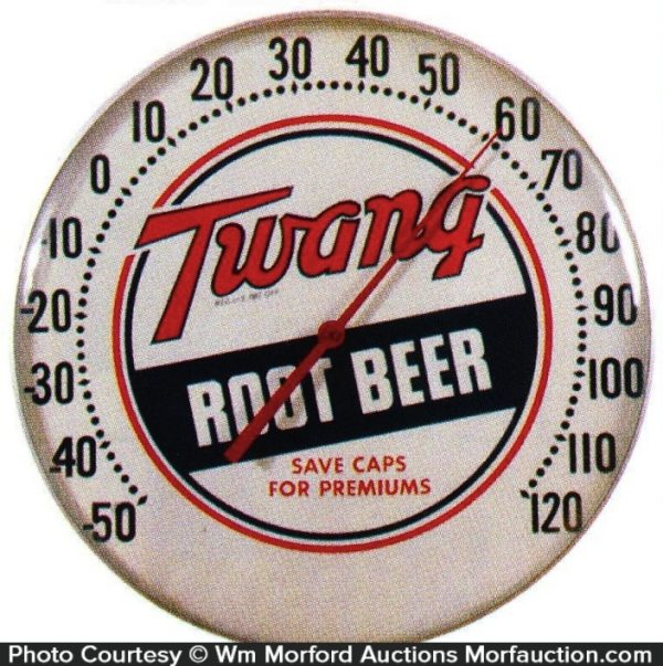 Twang Root Beer Thermometer