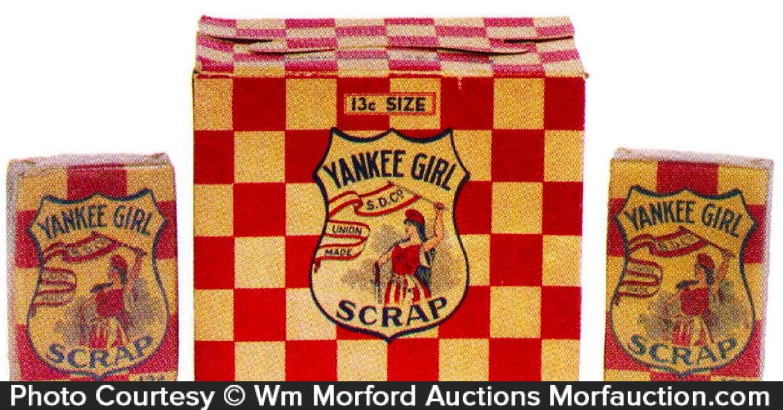 Yankee Girl Tobacco Box