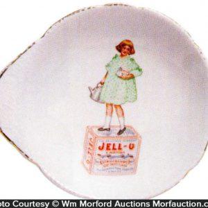 Jell-O Advertising Dish