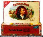 Captain Jack Cigar Box