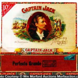 Captain Jack Cigar Box
