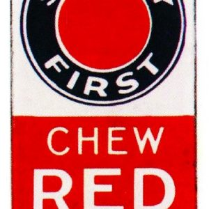 Red Man Tobacco Door Push
