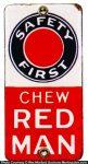Red Man Tobacco Door Push