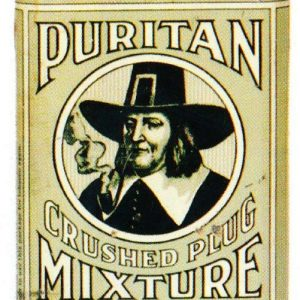 Puritan Pocket Tobacco Tin