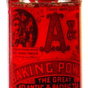 A&P Baking Powder Tin