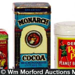 Vintage Sample Tins