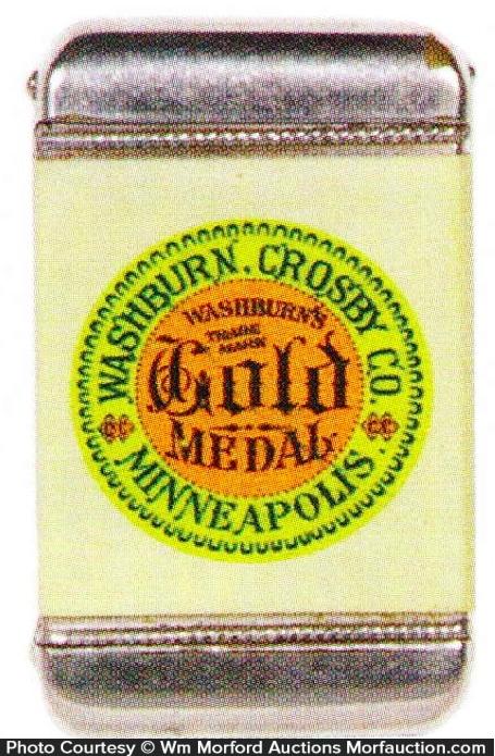 Gold Medal Flour Match Safe