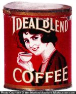 Ideal Blend Coffee Can