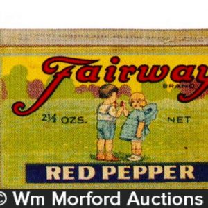 Vintage Fairway Spice Tins