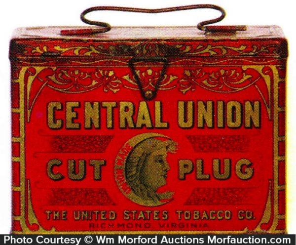 Central Union Tobacco Pail