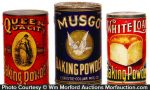 Vintage Baking Powder Tins
