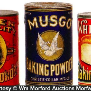 Vintage Baking Powder Tins