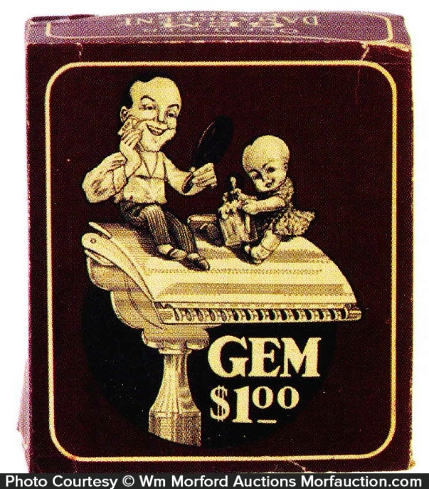 Gem Razors Display Box
