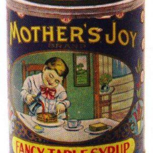 Mothers Joy Syrup Tin