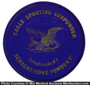 Eagle Sporting Gunpowder Label