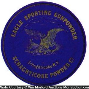 Eagle Sporting Gunpowder Label