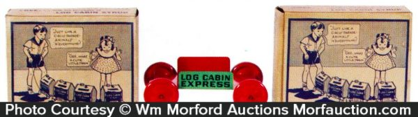 Log Cabin Express Toy